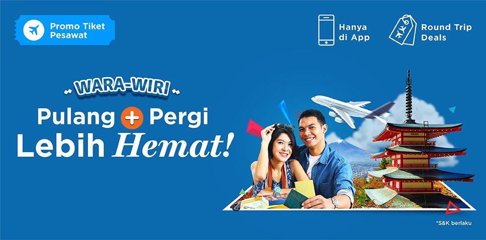 Promo Tiket Penerbangan Internasional  Rp 500.000
