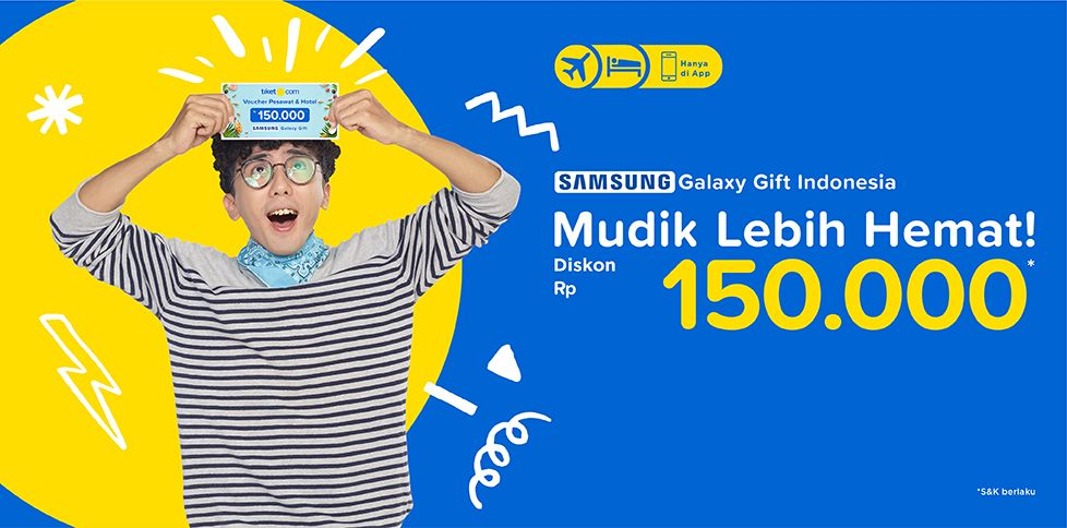 Promo Tiket Pesawat & Hotel - Samsung Gift Indonesia