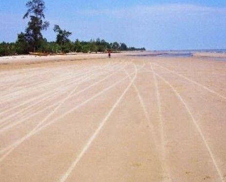 Pantai Pasir Panjang Pulau Rupat