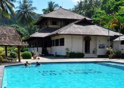 Puri Bunga Beach Cottages Hotel Teras