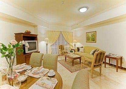 Puri Casablanca Serviced Apartement Ruang Tamu