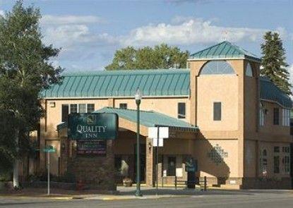 Quality Inn Gunnison Teras