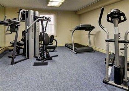 Quality Inn & Suites Big Rapids Teras