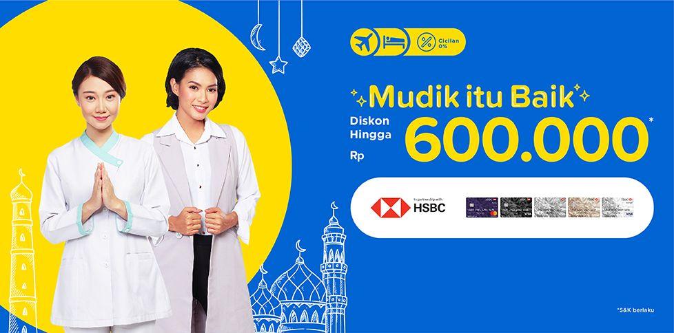 Promo Kece Bank HSBC hingga Rp 600.000