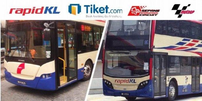 RAPIDKL Shuttle Bus for MOTOGP Sepang 29 Oct 2017