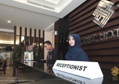 Raz Hotel & Convention Medan Penerima Tamu