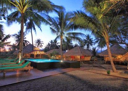 Rinjani Beach Eco Resort Teras