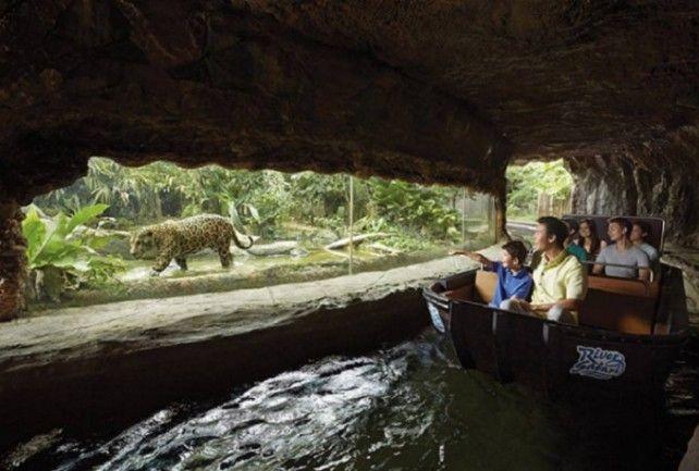 River Safari and Night Safari Combo with Two-way Transfer