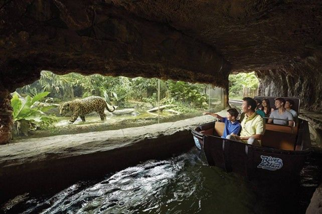 River Safari Singapore Admission with Two Boat Rides