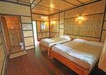 Pesan Kamar Raft Room With Abf di River Kwai Jungle view