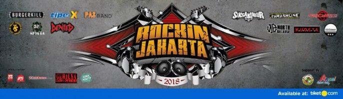 harga tiket Rock In Jakarta 2018