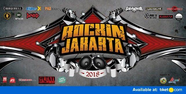 Rock In Jakarta 2018