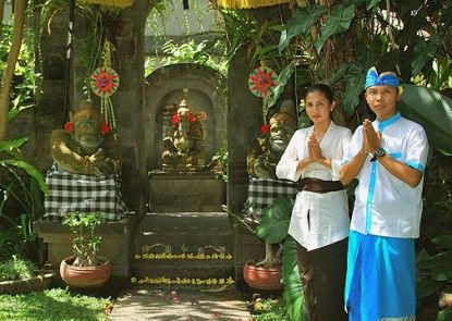 Sahadewa Resort and Spa Ubud Pintu Masuk