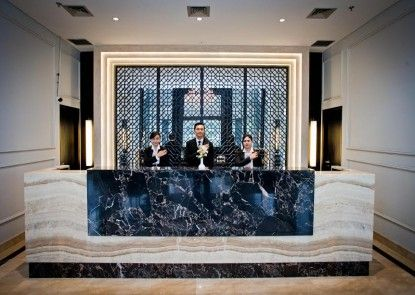 Samala Hotel Jakarta Cengkareng Penerima Tamu