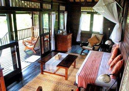 Samawa Seaside Cottages Ruang Tamu