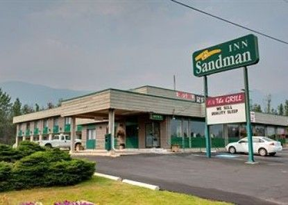 Sandman Inn Blue River Teras