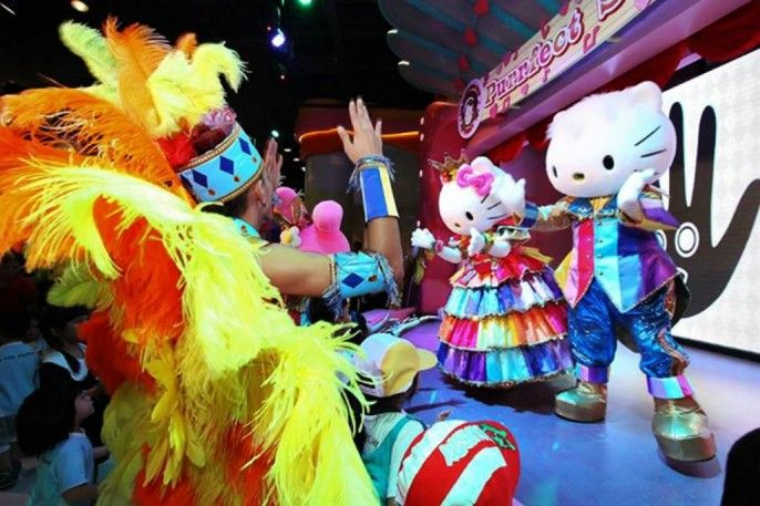 Sanrio Hello Kitty Town and Thomas Town E-ticket