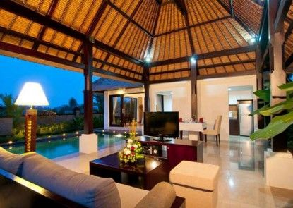 Santi Mandala Resort and Spa Ruang Tamu
