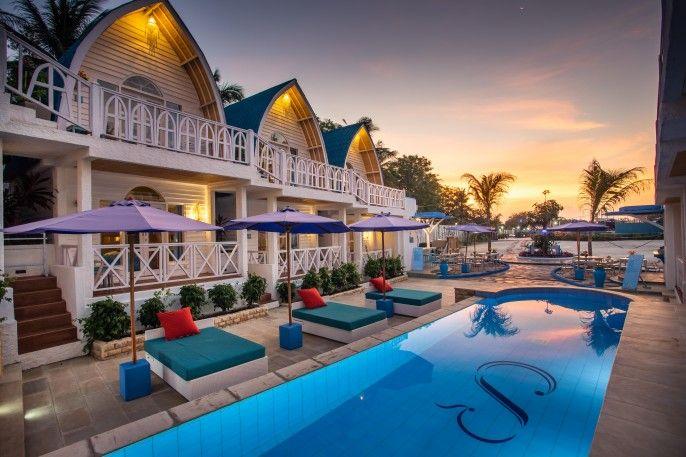 Santorini Beach Resort, Kepulauan Gili