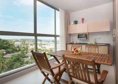 Seaview modern Apartment at Karon Hill