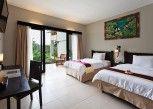 Pesan Kamar Seroja Twin Room (Free Mini Bar) di Kebun Villas & Resort