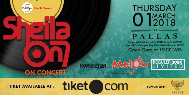 harga tiket Sheila On 7 on Concert Jakarta 2018