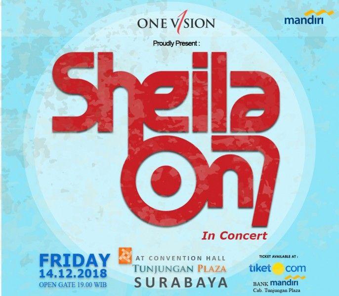 harga tiket Sheila On7 In Concert Surabaya 2018