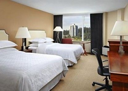 Sheraton Vancouver Guildford Hotel Teras