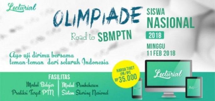 harga tiket Simulasi SBMPTN Nasional Lecturial 2018