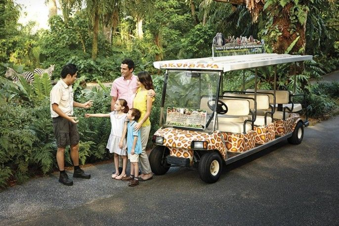 harga tiket Singapore Zoo: Admission with Tram Rides
