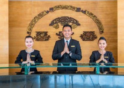 Sintesa Peninsula Hotel Palembang Teras