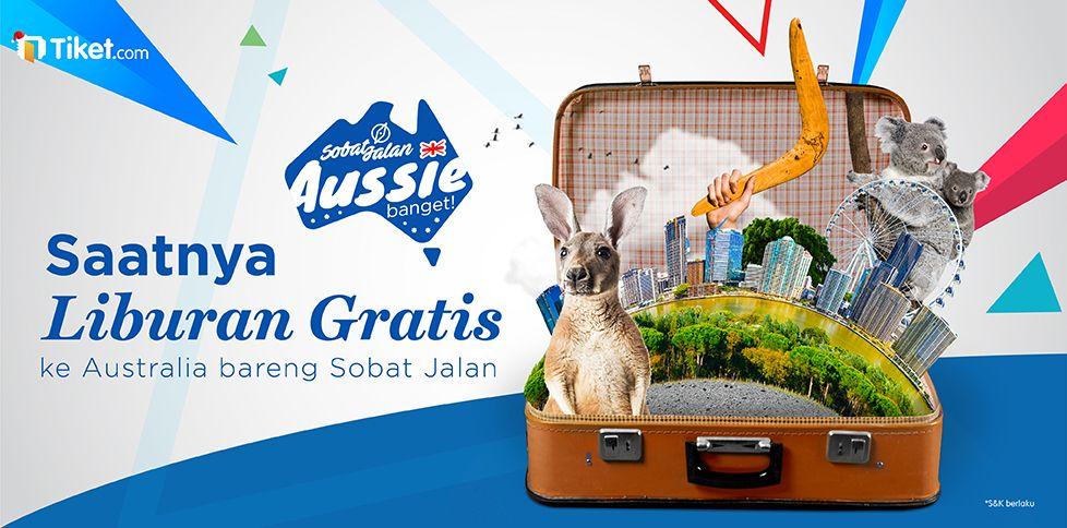 Liburan Gratis Ke Aussie Sobat Jalan!