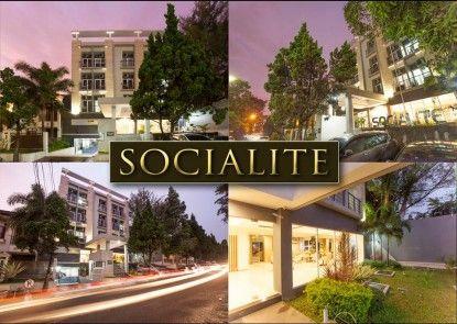 Socialite Backpacker Hotel Pemandangan