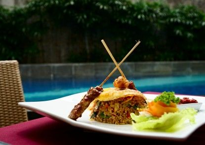 Solaris Hotel Kuta-Bali Teras
