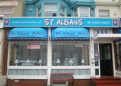 St Albans Hotel - Guest House Teras