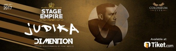 harga tiket Stage Empire With JUDIKA 2017