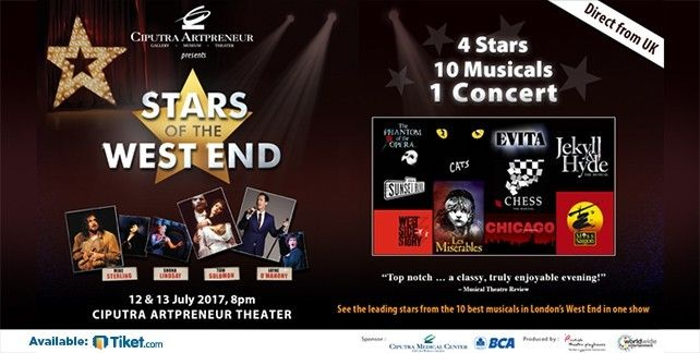 Star Of The West End Jakarta 2017