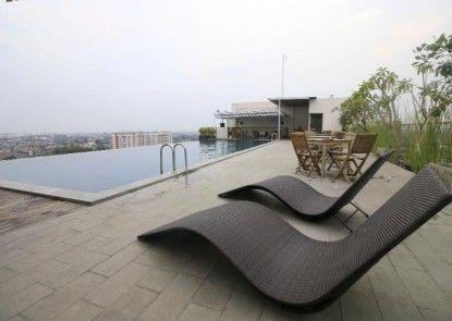 Student Park Hotel Apartment Yogyakarta Pemandangan