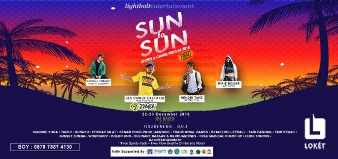 SUN to SUN SPORTS  GAMES FESTIVAL 2018