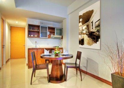 Sunset Residence Condotel Dapur