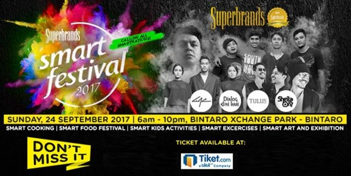 harga tiket Superbrands Smart Festival 2017