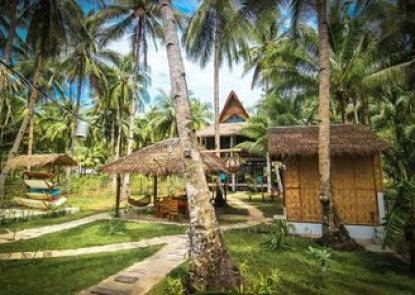 Surfing Carabao Beach Houses