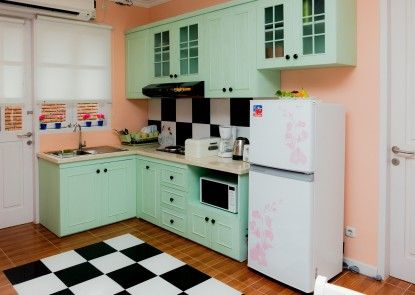 Sweet Peach House Dapur