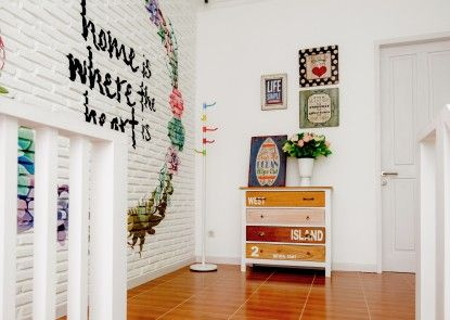 Sweet Peach House Interior