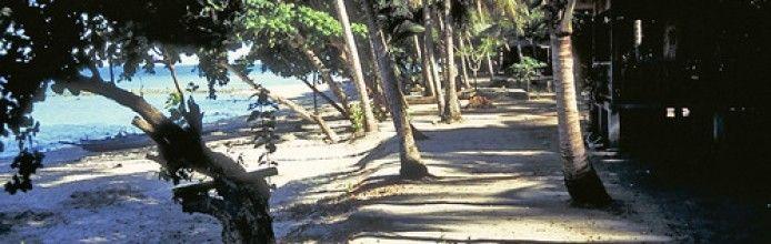 Molosing Island beach