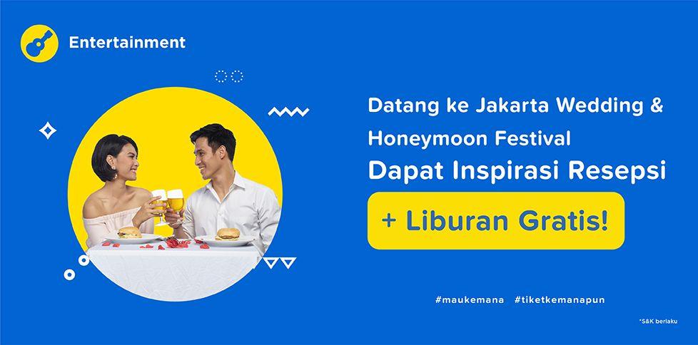 Jakarta Wedding Festival 2018 - Free Liburan Gratis