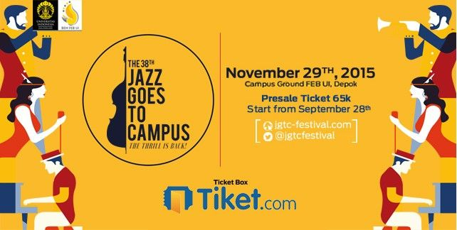 The 38th Jazz Goes To Campus 2015