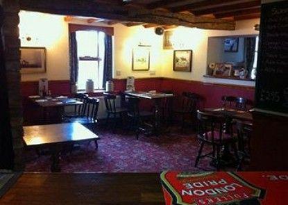 The Black Horse Inn Teras