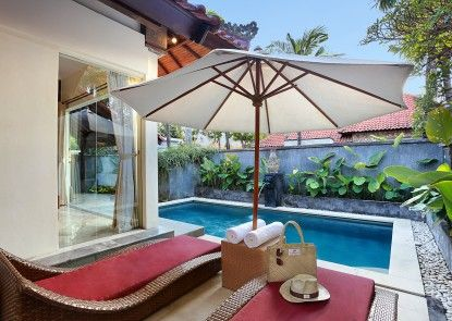 The Club Villas Kolam Renang Pribadi