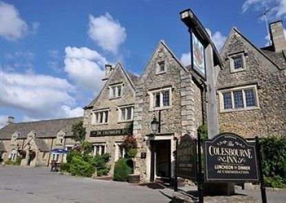 The Colesbourne Inn Teras